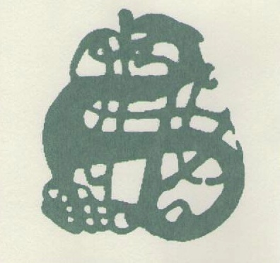 print from a viking brooch