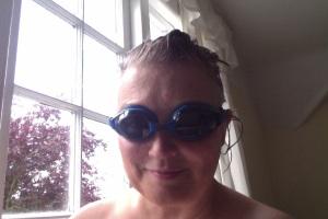 Indoor Aquatic Fauna Selfie