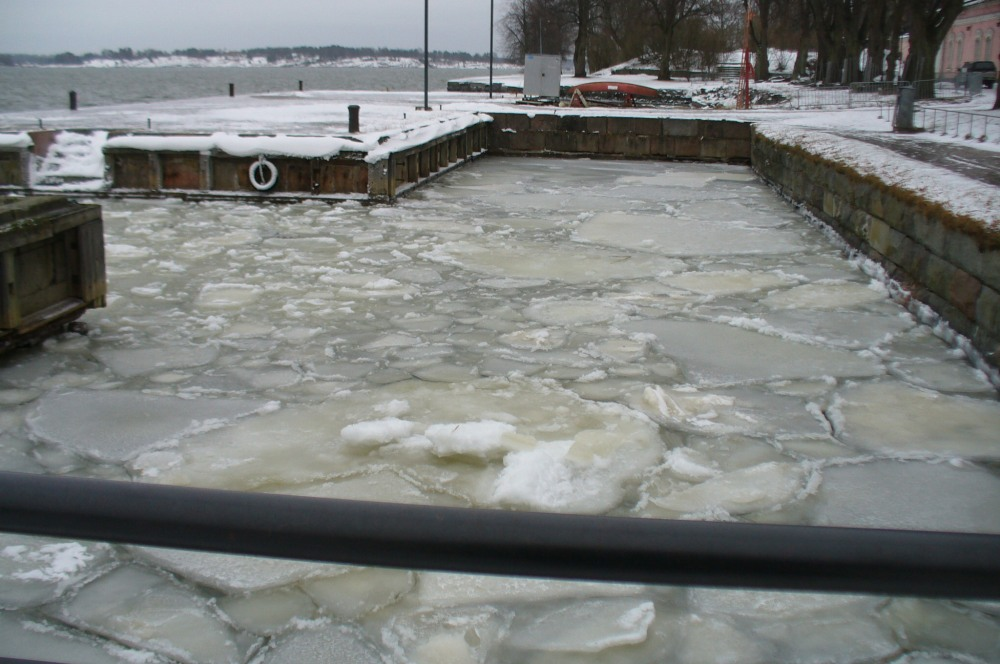 Ice Pack, Suomenlinna Island, Finland, January 2015