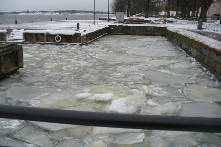 Ice Pack, Suomenlinna Island, Finland, January 2015