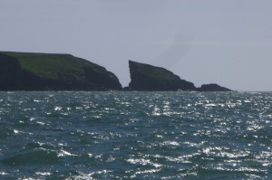 Journey to Caldey Island, South West Wales