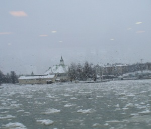 From the ferry to Suomenlinna Island