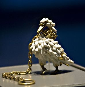 Dunstable Swan Jewel from the British Museum