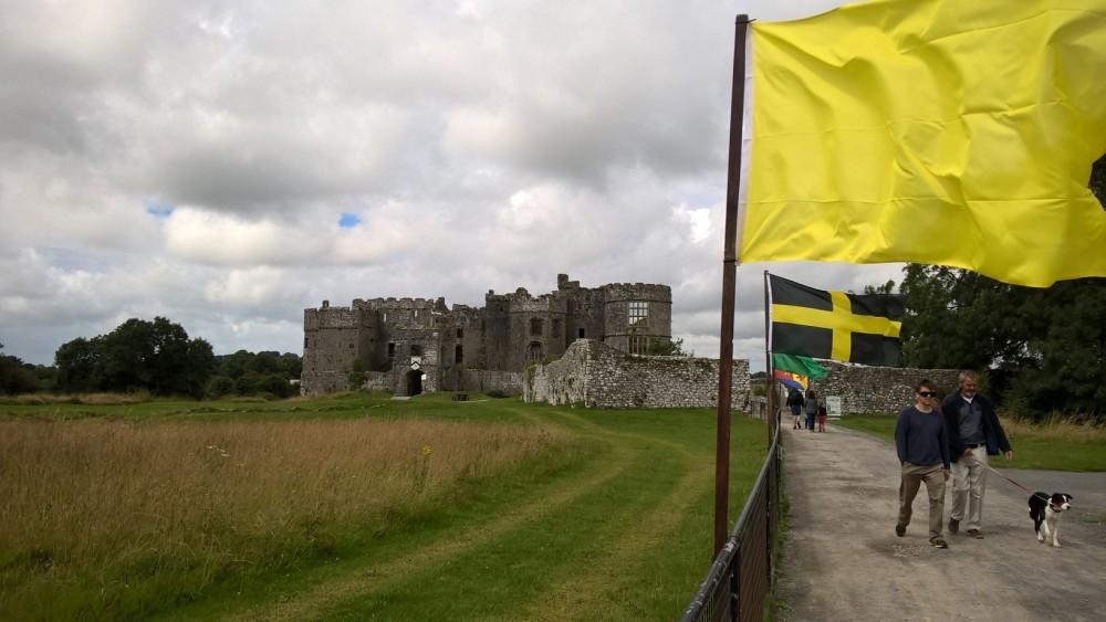 1 front shot of castle