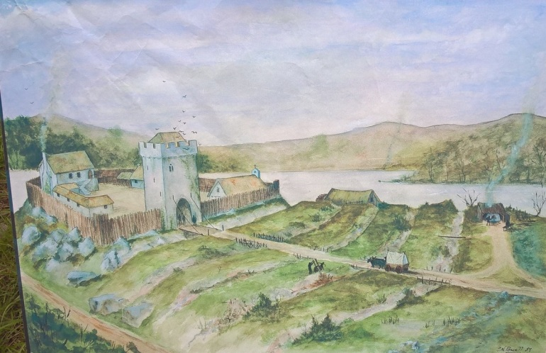 early Norman castle